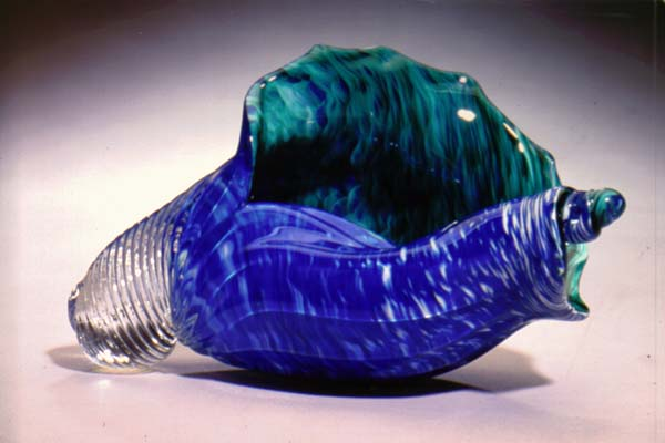 cobalt and blue conch